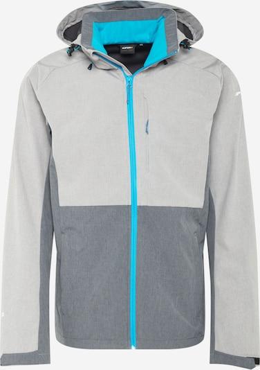 ICEPEAK Chaqueta de montaña 'BASSUM' en aqua / gris claro / gris moteado, Vista del producto