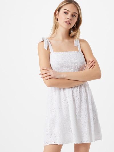 HOLLISTER Kleid in weiß, Modelansicht
