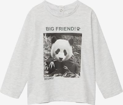 MANGO KIDS Tričko 'PANDA' - sivá / čierna, Produkt