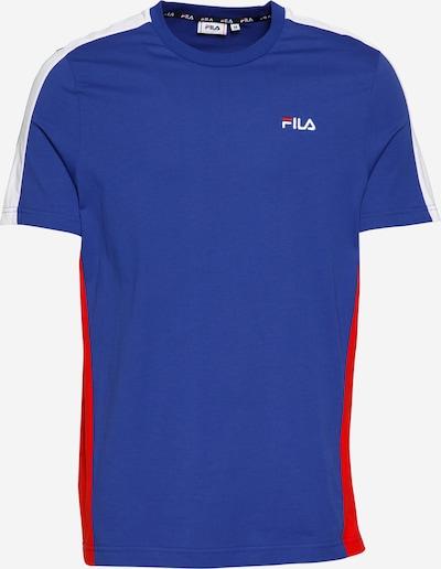 FILA Shirt 'Altan' in de kleur Blauw / Lichtrood / Wit, Productweergave