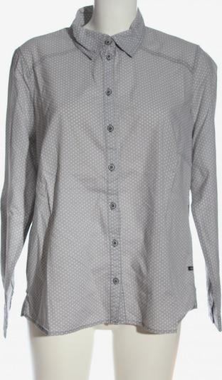 squesto Langarmhemd in L in hellgrau / weiß, Produktansicht