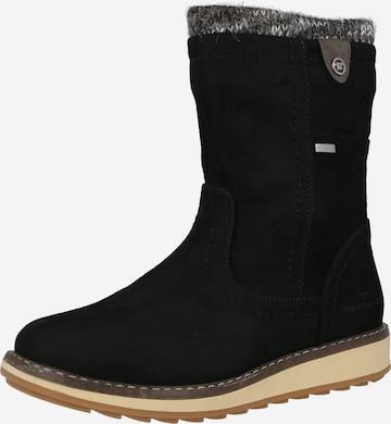 melns TOM TAILOR Sniega apavi