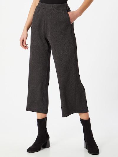 Pantaloni Q/S designed by di colore nero sfumato / argento, Visualizzazione modelli