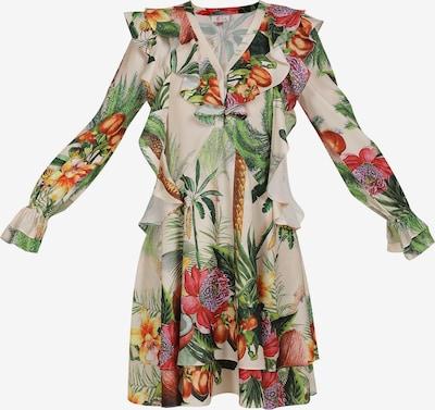 IZIA Sommerkleid in beige / mischfarben, Produktansicht
