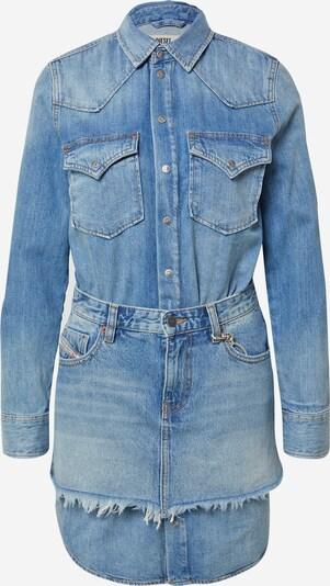 DIESEL Robe-chemise en bleu denim, Vue avec produit