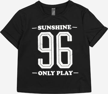 ONLY PLAY Sportshirt in Schwarz