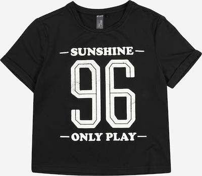 ONLY PLAY Sportshirt in schwarz / weiß, Produktansicht
