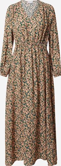 Rich & Royal Kleid in hellbeige / grün / schwarz, Produktansicht