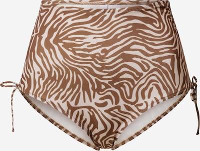 Samsoe Samsoe Bikinibroek 'Gytea' in de kleur Oker / Wit, Productweergave