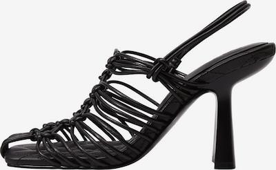 MANGO Riemensandale 'Petunia' in schwarz, Produktansicht