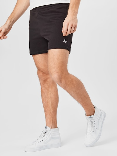 Pantaloni 'SIMONE' JACK & JONES pe gri / negru, Vizualizare model