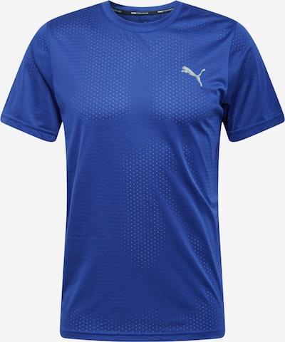 PUMA Functioneel shirt in de kleur Blauw / Zilver, Productweergave