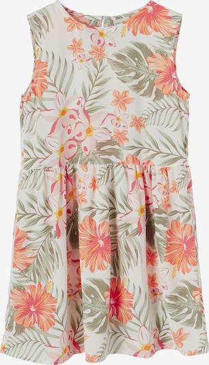 NAME IT Dress 'Vinaya' in Khaki / Mandarine / Coral / Rose / Pastel pink / White, Item view