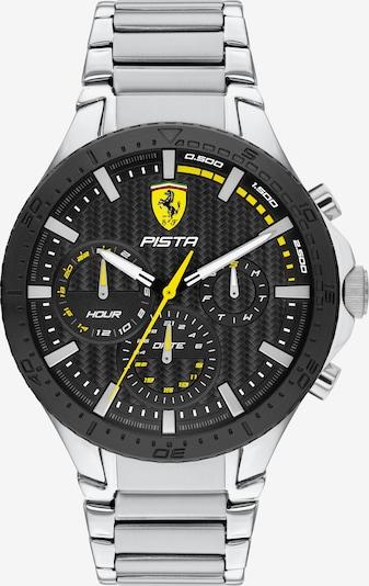 Scuderia Ferrari Analoguhr in gelb / schwarz / silber, Produktansicht