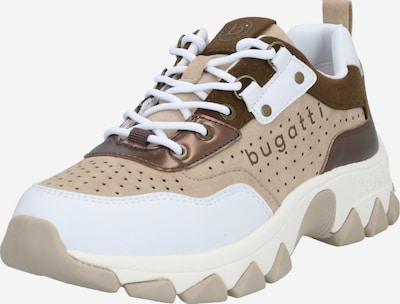 bugatti Sneaker 'Yuki' in beige / braun / weiß, Produktansicht