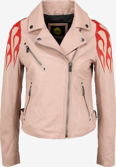 BUFFALO Lederjacke 'BE HOT' in pink, Produktansicht