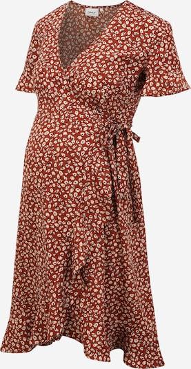Only Maternity Φόρεμα 'Olivia' σε κρεμ / καφέ / μαύρο, Άποψη προϊόντος