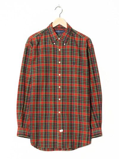 Ralph Lauren Flanellhemd in XL/XXL in rot, Produktansicht