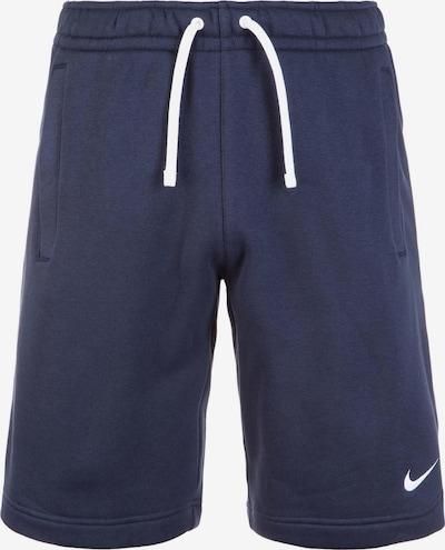 NIKE Sportbroek 'Club19' in de kleur Navy / Wit, Productweergave