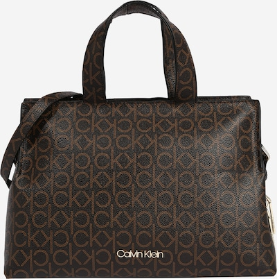 Calvin Klein Tasche in karamell / dunkelbraun, Produktansicht