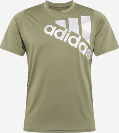 Sportiniai marškinėliai iš ADIDAS PERFORMANCE , spalva - žalia, Prekių apžvalga