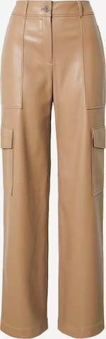 HUGO Klapptaskutega püksid 'Holandi-1', värv pruun