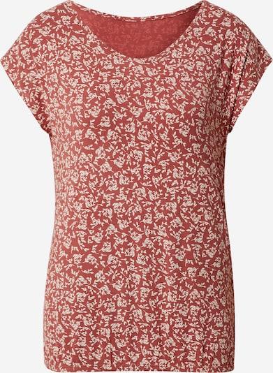 LASCANA T-shirt en rouge orangé, Vue avec produit