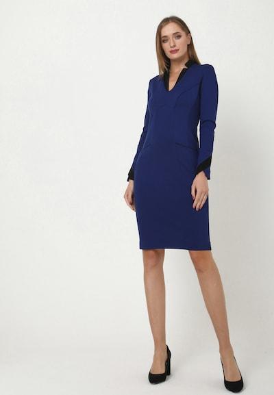 Madam-T Kleid 'KRUTONA' in blau, Modelansicht
