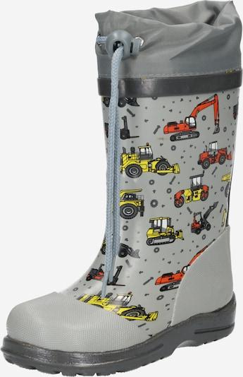 BECK Botas de lluvia 'Baustelle' en amarillo / gris / antracita / rojo claro, Vista del producto