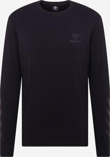 Hummel Funktionsshirt 'Sigge' in grau / schwarz, Produktansicht