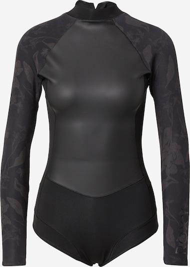 Body sportiv ROXY pe gri închis / negru, Vizualizare produs