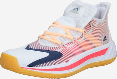 ADIDAS PERFORMANCE Basketballschuh 'Pro Boost' in navy / gelb / orange / weiß, Produktansicht