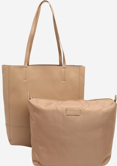 Seidenfelt Manufaktur Shopper 'Hollola' in Dark beige / Gold, Item view