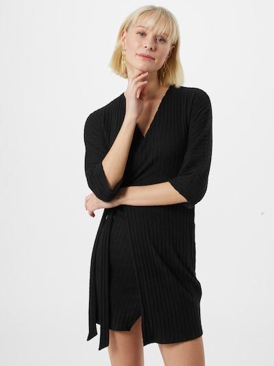 River Island Úpletové šaty - černá, Model/ka