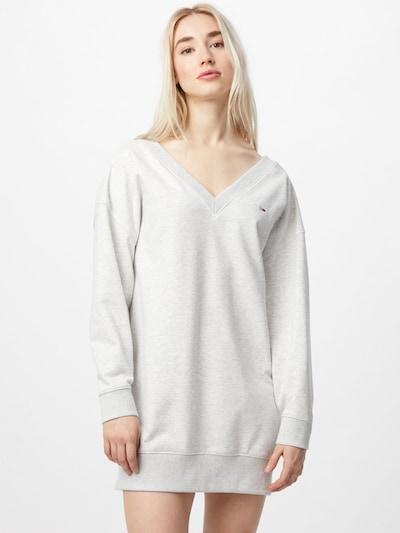 Tommy Jeans Kleid in graumeliert, Modelansicht