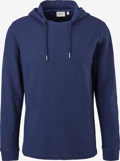 s.Oliver Shirt in de kleur Donkerblauw, Productweergave
