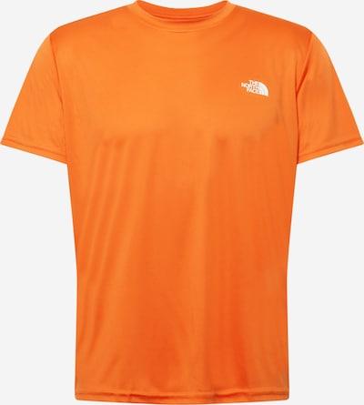 THE NORTH FACE Funkčné tričko - oranžová / biela, Produkt