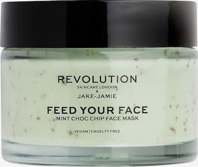 Revolution Skincare Maske 'Feed Your Face Mint Choc Chip' in grün, Produktansicht
