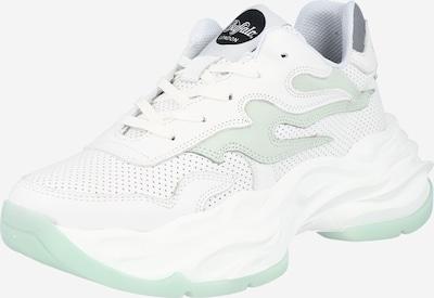 Buffalo London Baskets basses 'EYZA P' en gris foncé / vert pastel / blanc, Vue avec produit