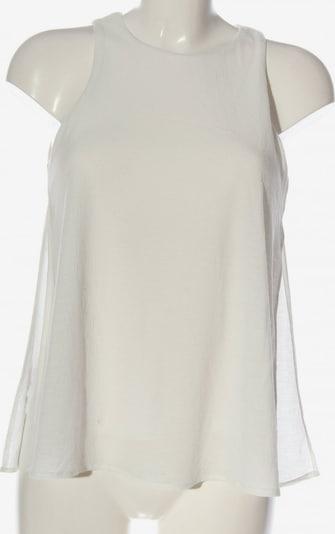 MANGO ärmellose Bluse in S in weiß, Produktansicht