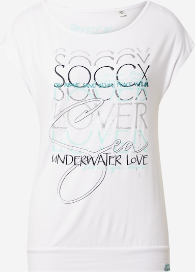 Soccx Shirt in Mixed colours / White, Item view