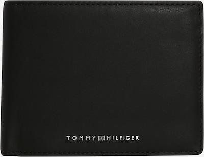 TOMMY HILFIGER Porte-monnaies 'Metro' en noir / argent, Vue avec produit