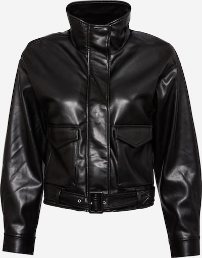 Abercrombie & Fitch Jacke 'MOTO T1 EXT' in schwarz, Produktansicht