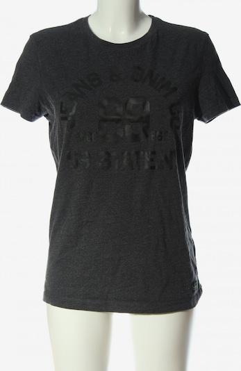 Angelo Litrico Print-Shirt in S in hellgrau / schwarz, Produktansicht