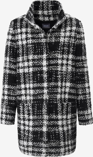 Basler Mantel in schwarz / weiß, Produktansicht