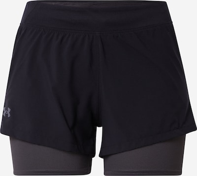 UNDER ARMOUR Shorts in anthrazit / schwarz, Produktansicht