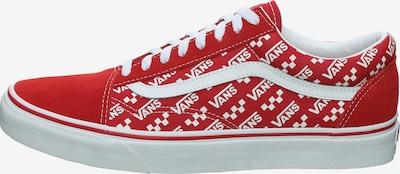 VANS Old Skool Sneaker in rot / weiß, Produktansicht