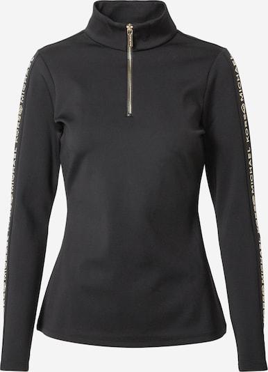 MICHAEL Michael Kors Sweater majica u zlatna / crna, Pregled proizvoda