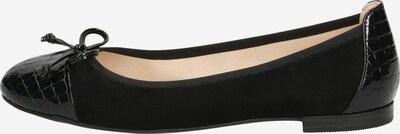 CAPRICE Ballerina in schwarz, Produktansicht