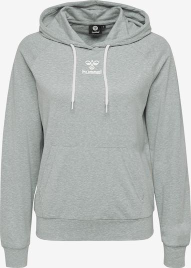 Hummel Hoodie in grau, Produktansicht